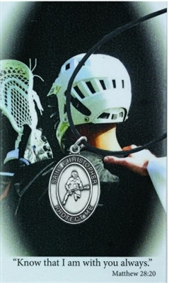 BOYS LACROSSE PRAYER CARD SET