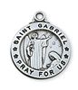 Sterling Silver St. Gabriel Pendent L600GB