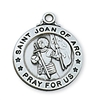 Sterling Silver St. Joan of Arc Pendant L600JOA
