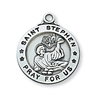 Sterling Silver St. Stephen Pendant L600SN