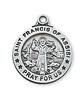 Sterling Silver St. Francis Pendant L600FR