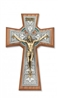 "8"" Walnut Celtic Crucifix 79-42668"