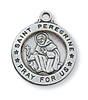 Sterling Silver St. Peregrine Pendant L700PE