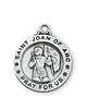 Sterling Silver St. Joan of Arc Pendent L700JOA
