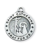 Sterling Silver St. Catherine Pendant L700CTS