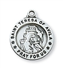 Sterling Silver St. Teresa of Avila Pendant L700TH