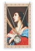 ST AGATHA MEDAL & PRAYER CARD Set