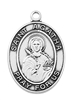 St. Agatha Sterling Silver Medal