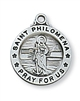 Sterling Silver St. Philomena Pendant L700PH