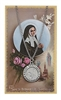 St. Bernadette Pendant and Prayer Card Set