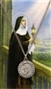 (PSD600CL) ST CLARE PRAYER CARD SET