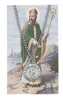 St. Patrick Medal and Prayer Card Set