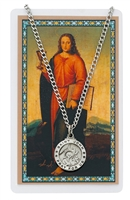 St. John the Evangelist Medal with Prayer Card