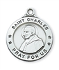 Sterling Silver St. Charles Pendant L600CR