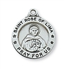 Sterling Silver St. Rose of Lima Pendant L700RS