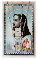 Scapular Pendant and Prayer Card PSD612