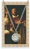 St. Charles Borromeo Medal and Prayer Card SET PSD600CR