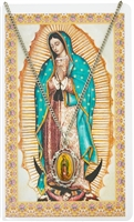 O.L. GUADALUPE CARD & MEDAL PSD738
