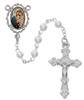 PEARL MOTHER AND CHILD ROSARY R688RF