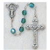 Emerald (May) Crystal Bead Rosary 120-EMR