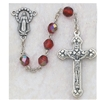 6MM Ruby Rosary 120-RUR