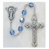 Zircon (December) Crystal Bead Rosary 120-ZRR