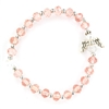 October Rose Crystal Youth Angel Bracelet BR927C