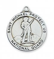 St Michael National Guard Medal L650NG