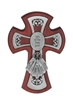 Confirmation Cherry Wood Cross 77-23