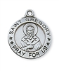 Sterling Silver St. Gregory Pendant L600GY