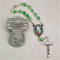 Guardian Angel Auto Rosary and Visor Clip Set AV-GA