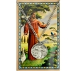 St Francis Pendant and Laminated Prayer Card