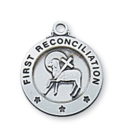 Sterling Silver Reconciliation Pendant L700RCW
