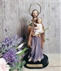 Saint Joseph with Child 5inch Statue P05JO-1