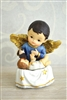 Baby Guardian Angel Statue P204GA