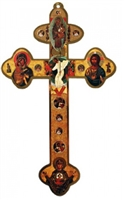 "Orthodox 12"" Wall Cross CX54ORT-1"