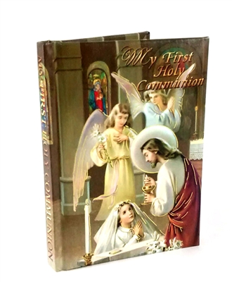 First Communion Book Girl and Angels Book BDF9904GE