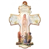 Our Lady of Fatima Wall Cross CX54FA2