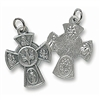 Small Four Way (4-Way) Cross Pendant SCX14CNF