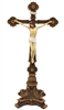 Standing Hand-Painted Crucifix SR-76443-C