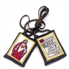 L: Sacred Heart of Jesus Brown Scapular