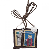 M: SAINT. MAXIMILLIAN KOLBE BROWN SCAPULAR