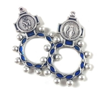 Mary Queen of the World Rosary Ring 77MIR
