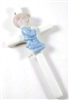Porcelain Baby Boy Wall Cross  33012