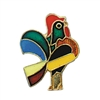 De Colores Rooster Lapel Pin AS789
