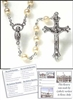 Vatican Collection Glass Pearl  Rosary