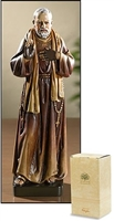 Saint Padre Pio of Pietrlcina Statue PS990