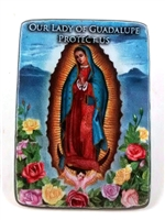 Our Lady of Guadalupe Visor Clip KVC809