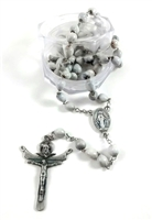 Job's Tears Catholic Rosary - Favorite of Mother Teresa R950