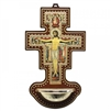 San Damiano Cross Holy Water Font 407-SD